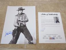 Clint Eastwood BONANZA Signed Autographed 11x14 Promo Photo PSA Certified
