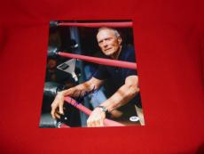 CLINT EASTWOOD dirty harry million dollar baby signed PSA/DNA 11X14 LOA 10