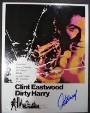 Clint Eastwood Dirty Harry Movie Signed Autographed 11x14 Photo Jsa Loa #z09522
