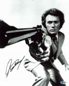 Clint Eastwood Dirty Harry Signed 11X14 Photo Autographed BAS #A06723