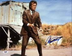 Clint Eastwood Dirty Harry Signed 11X14 Photo Graded Perfect 10! PSA/DNA #T08081