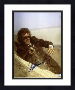 Clint Eastwood Dirty Harry Signed 11X14 Photo Graded Perfect 10! PSA/DNA #T08083