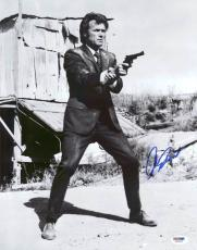 Clint Eastwood Dirty Harry Signed 11X14 Photo PSA/DNA #X01626