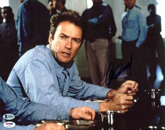 Clint Eastwood Escape From Alcatraz Signed 11x14 Photo BAS #A85027