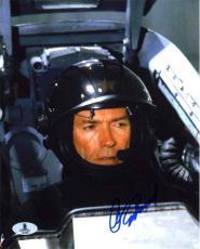 Clint Eastwood Firefox Autographed Signed 8x10 Photo Beckett BAS COA LOA