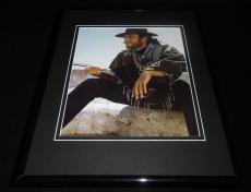 Clint Eastwood Framed 11x14 Photo Display