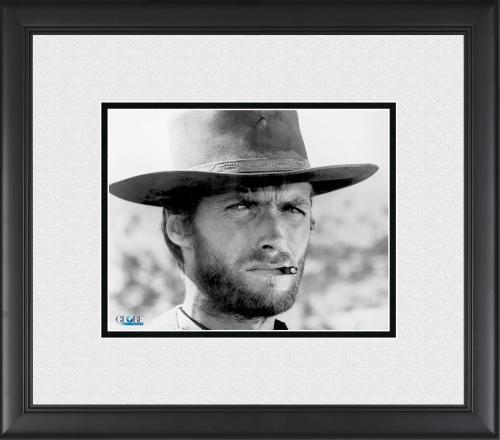 "Clint Eastwood Framed 8"" x 10"" Classic Portrait Photograph"