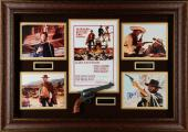 """Clint Eastwood Framed Autographed 44"""" x 32 The Good, The Bad & The Ugly Collage - Beckett LOA"""