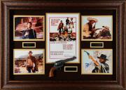 "Clint Eastwood Framed Autographed 44"" x 32 The Good, The Bad & The Ugly Collage - Beckett LOA"