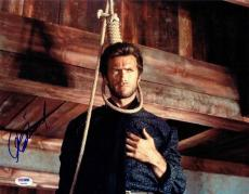Clint Eastwood Good Bad Ugly Autographed Signed 11x14 Photo Certified PSA/DNA