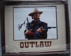 Clint Eastwood Hand Signed   Autographed Outlaw Josie Wales 11 x 14 Photo - Custom Framed - JSA