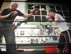 CLINT EASTWOOD HILARY SWANK SIGNED AUTOGRAPH 11x14 PHOTO MILLION DOLLAR BABY X5