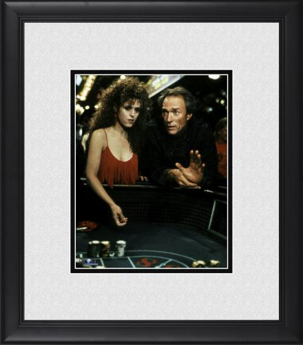 """Clint Eastwood Pink Cadillac Framed 8"""" x 10"""" with Bernadette Peters Photograph"""