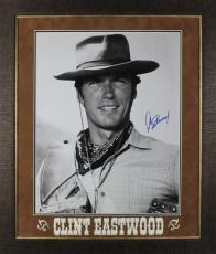 Clint Eastwood Rawhide Signed & Framed 16X20 Photo PSA/DNA #X01801
