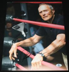 Clint Eastwood signed 11 x 14, Million Dollar Baby, Gran Torino, Beckett, BAS