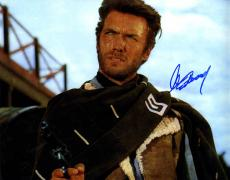 Clint Eastwood Signed 11x14 Good Bad Ugly Poster Photo W/Vid Proof UACC RD