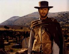 Clint Eastwood  Signed 11x14 Man With No Name Poster Photo UACC RD AFTAL COA