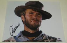 Clint Eastwood Signed 11x14 Photo Authentic Autograph Proof Psa/dna Loa A