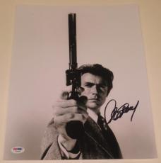 Clint Eastwood Signed 11x14 Photo Authentic Autograph Proof Psa/dna Loa B