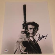 Clint Eastwood Signed 11x14 Photo Authentic Autograph Proof Psa/dna Loa B