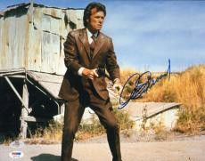 Clint Eastwood Signed 11x14 Photo PSA/DNA COA 1971 Dirty Harry Picture Autograph