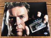 CLINT EASTWOOD SIGNED 11x14 PHOTO SUDDEN IMPACT AUTHENTIC BAS LOA #A12184