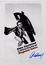 Clint Eastwood Signed 12x18 Magnum Force Promo Poster Photo UACC RD COA