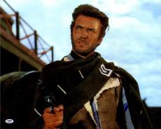 Clint Eastwood Signed 16x20 Movie Poster Photo UACC RD COA AFTAL PSA LOA