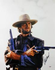 Clint Eastwood Signed 16X20 Photo Autographed PSA/DNA #U02817