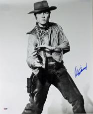 Clint Eastwood Signed 16X20 Photo Autographed PSA/DNA #X01802