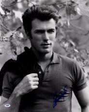 Clint Eastwood Signed 16x20 Young Buff Photo AFTAL UACC RD COA PSA Letter