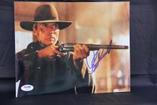 Clint Eastwood signed 8x10 autographed photo PSA Y02163