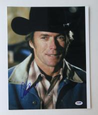 Clint Eastwood Signed Authentic Autographed 11x14 Photo (PSA/DNA) #Q29956