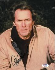 Clint Eastwood Signed Authentic Autographed 8x10 Photo (PSA/DNA) #U00198