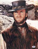 Clint Eastwood Signed 11x14 Photo PSA/DNA COA Picture Rawhide Unforgiven Auto'd