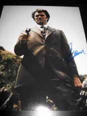 CLINT EASTWOOD SIGNED AUTOGRAPH 11x14 PHOTO DIRTY HARRY PROMO IN PERSON COA X4