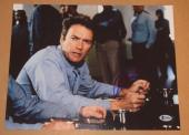 Clint Eastwood Signed Autograph 11x14 Photo ESCAPE FROM ALCATRAZ Beckett BAS COA