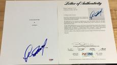 """Clint Eastwood Signed Autograph """"in The Line Of Fire"""" Full Movie Script Psa/dna"""