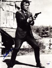Clint Eastwood Signed Autographed 11x14 Dirty Harry Photo PSA/DNA Authentic