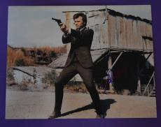Clint Eastwood Signed Autographed 11x14 Photo Dirty Harry B