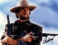 Clint Eastwood Signed Autographed 11x14 The Outlaw Josey Wales Photo AFTAL
