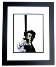 Clint Eastwood Signed - Autographed Dirty Harry 11x14 inch Photo - BLACK CUSTOM FRAME with PSA/DNA FULL Letter of Authenticity (COA)