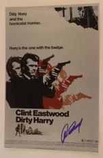 Clint Eastwood Signed Autographed DIRTY HARRY 12X18 Photo Poster COA VD