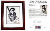 Clint Eastwood Signed - Autographed Dirty Harry Magnum Force 12x18 inch  Photo - Mini Movie Poster - MAHOGANY CUSTOM FRAME - PSA/DNA FULL Letter of Authenticity (COA)