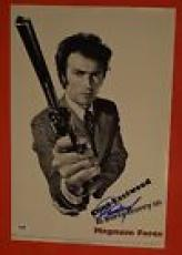 Clint Eastwood Signed Autographed Dirty Harry Magnum Force Movie Poster PSA/COA