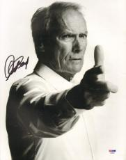 """CLINT EASTWOOD Signed Autographed """"GRAN TORINO"""" 11x14 Photo PSA/DNA #AA00003"""