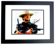 Clint Eastwood Signed - Autographed The Good, the Bad and the Ugly 11x14 Photo - BLACK CUSTOM FRAME