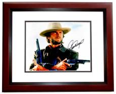 Clint Eastwood Signed - Autographed The Outlaw Josey Wales 11x14 Photo - MAHOGANY CUSTOM FRAME - with PSA/DNA FULL Letter of Authenticity (COA)
