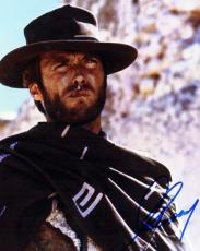 Clint Eastwood Signed - Autographed The Good, the Bad and the Ugly 8x10 inch Photo - Guaranteed to pass PSA or JSA