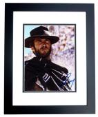 Clint Eastwood Signed - Autographed The Good, the Bad and the Ugly 8x10 inch Photo - BLACK CUSTOM FRAME - Guaranteed to pass PSA or JSA